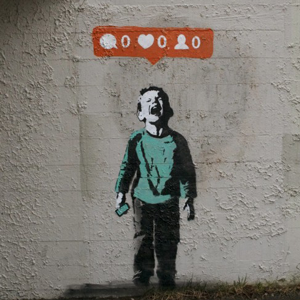 Banksy, Nobody Likes you.